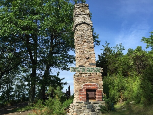 Outdoor oven, Island Spirits, Rice Lake, Ontario