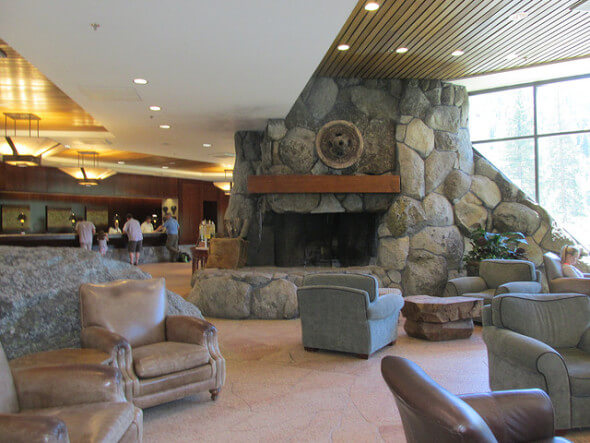 lobby, resort at squaw creek