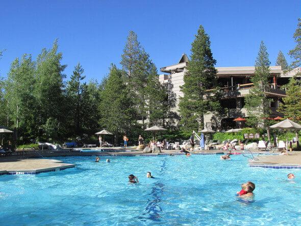 swimming pool, resort at squaw creek