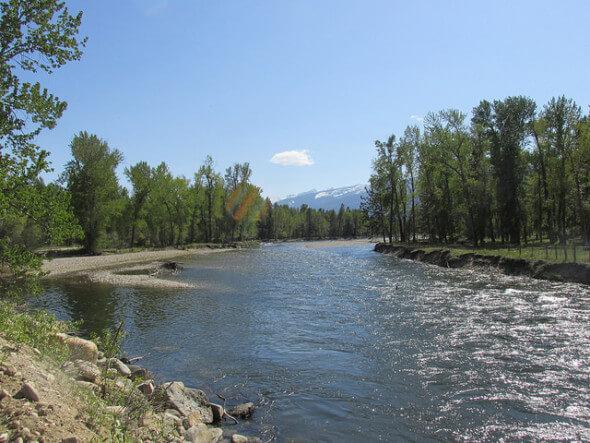 Bitterroot River, Darby, Montana,