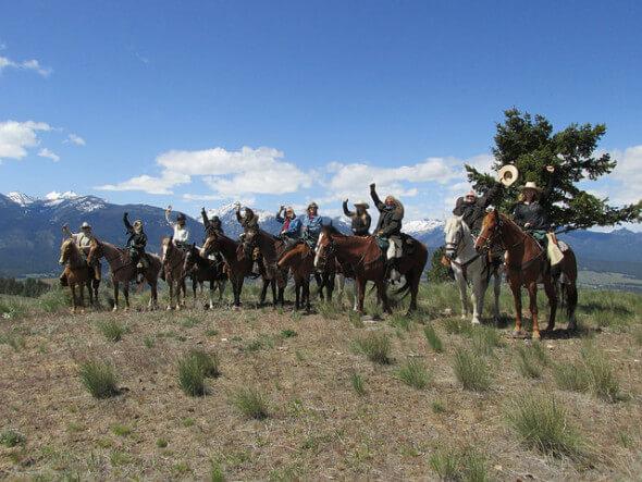 Triple Creek Ranch, rocky mountain rendezvous, montana