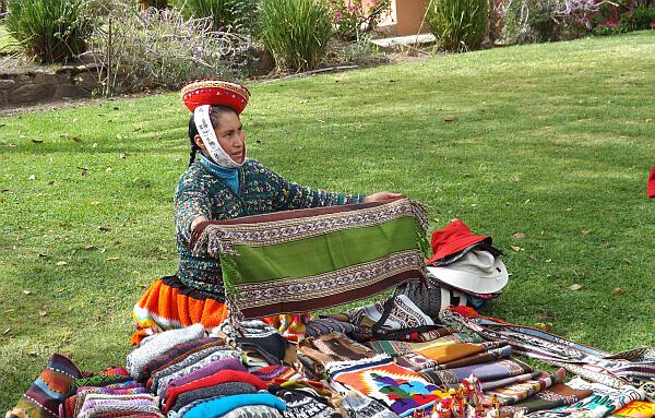 Sacred Valley Peru vendor