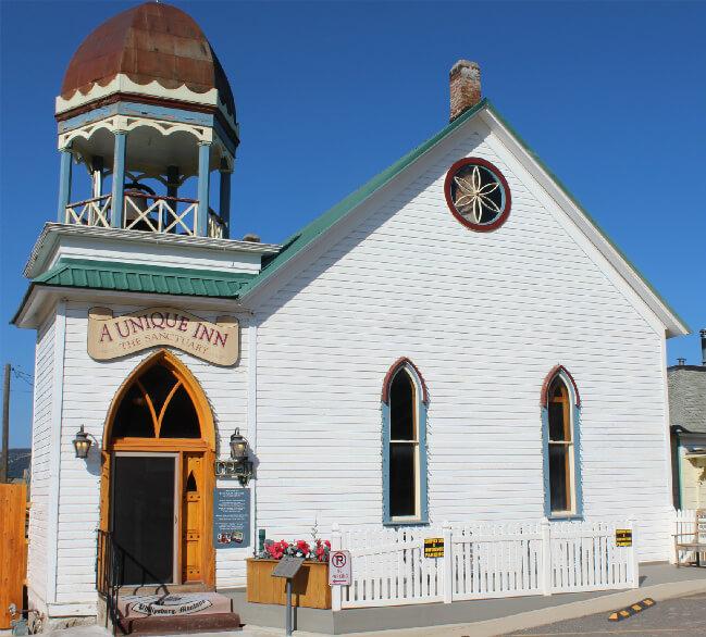 A Historic Presbyterian Church Transformed into an Inn