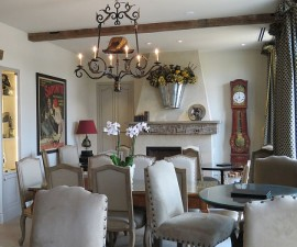 Breakfast room at Enchante Boutique Hotel