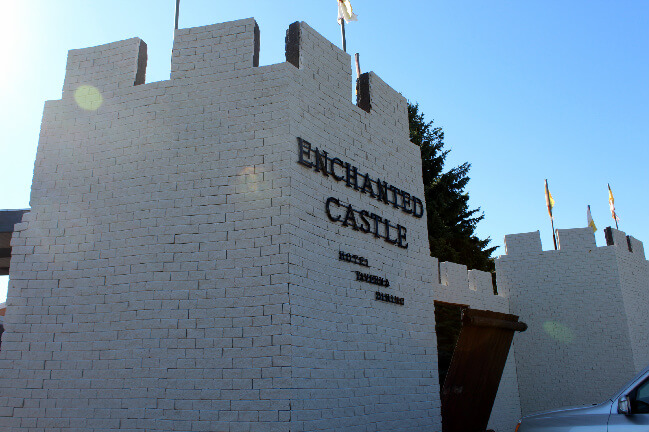 Regent, ND: Where a school becomes a castle hotel.