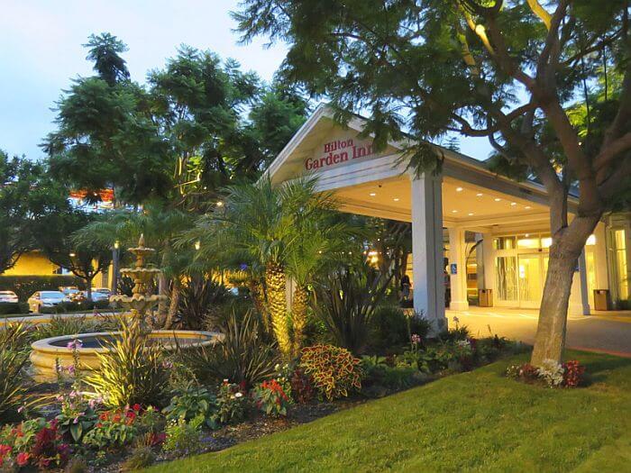 Outside of Hilton Garden Inn