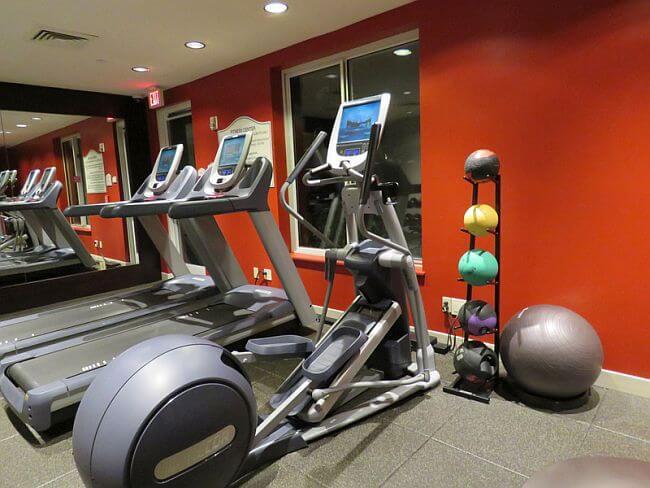Fitness Center at Hilton Garden Inn LAX