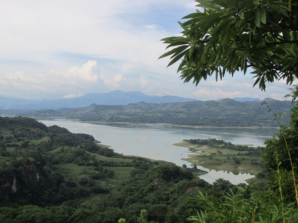 Lake Suchitlan, Suchitoto, El Salvador