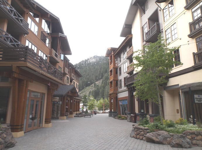 In the Village at Squaw Valley