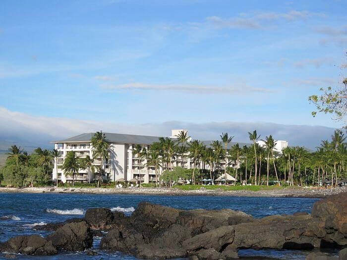 Waterfront view of Fairmont Orchid