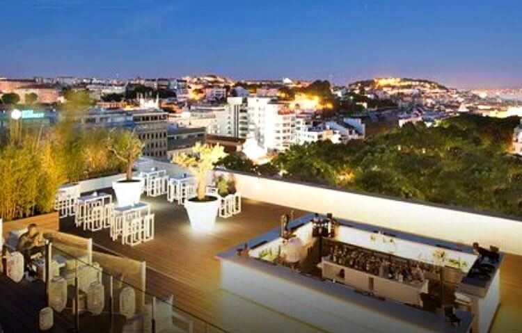 Sky Bar at Tivoli Lisboa