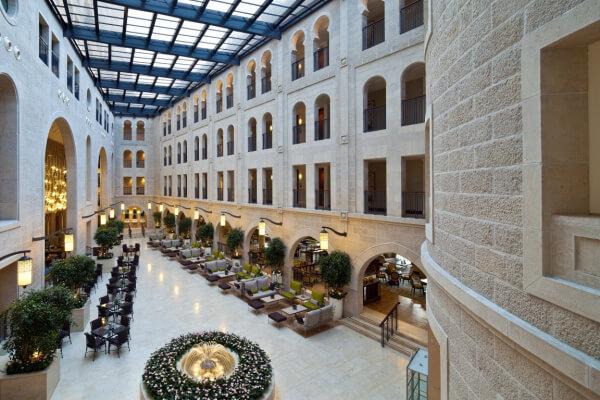 Atrium Waldorf Astoria Israel