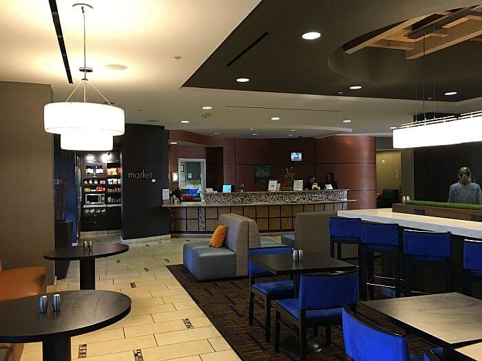 Lobby Area Courtyard Marriott Paso Robles
