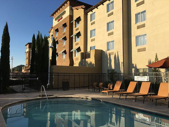 Pool Area at Courtyard Marriott Paso Robles