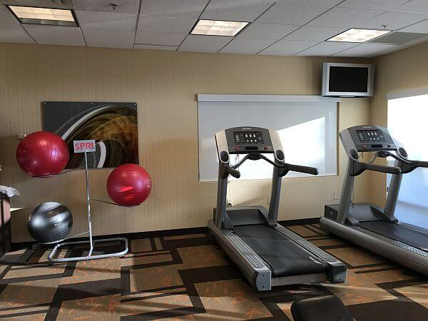 Courtyard Marriott Paso Robles Fitness Center