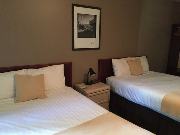Guest room, Monashee Lodge, Revelstoke, BC, Canada