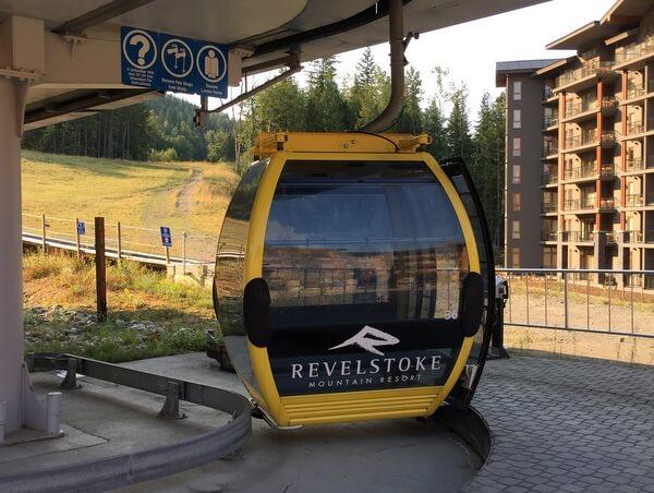Gondola, Revelstoke, BC, Canada