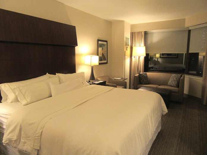 Deluxe room at Westin Grand Central