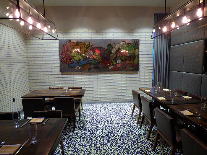 Epicurean private dining area