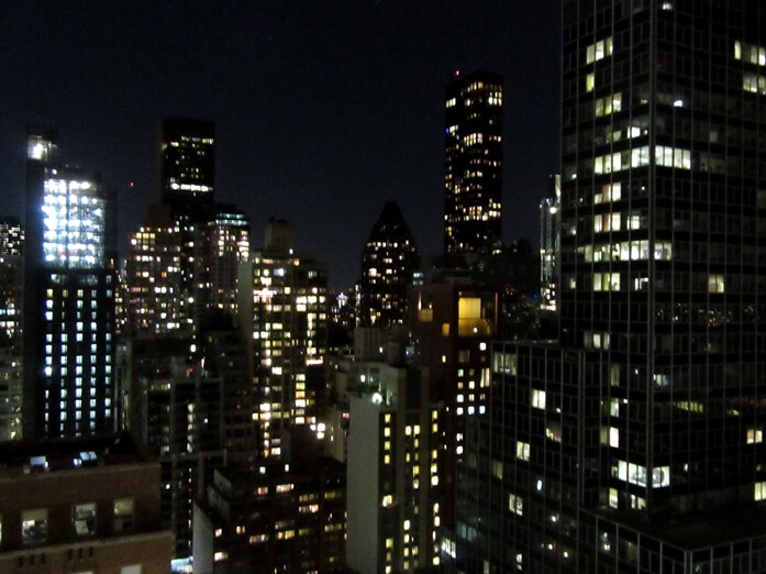 view from room 3115 at Westin Grand Central