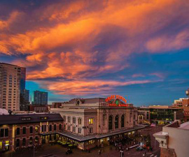 Downtown Denver Hotels and resorts, such as the Crawford Hotel in Union Station, are some of our favorite hotels.