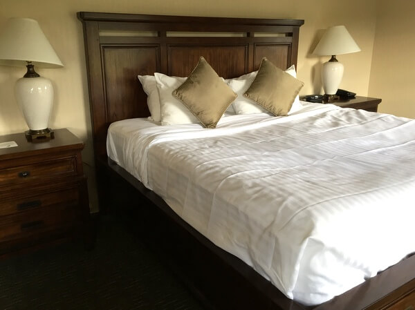 Guest room, St. Eugene Resort
