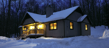 canaan valley winter cabins
