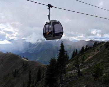 Gondola, Kicking Horse Mountain Resort, Golden, BC Canada