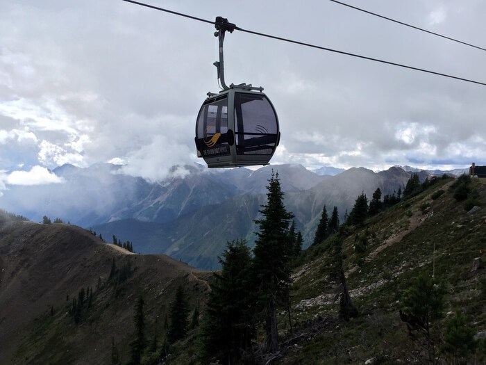 Gondola, Kicking Horse Mountain Resort, Golden, BC Canada