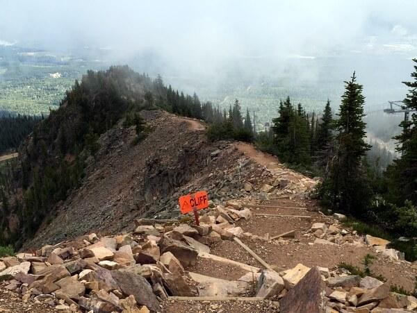 Hiking Trail, Kicking Horse Mountain Resort, Golden BC Canada