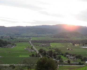Serenity & Sunsets at Napa Valley's Poetry Inn