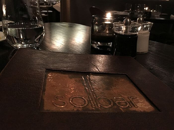 Solbar restaurant