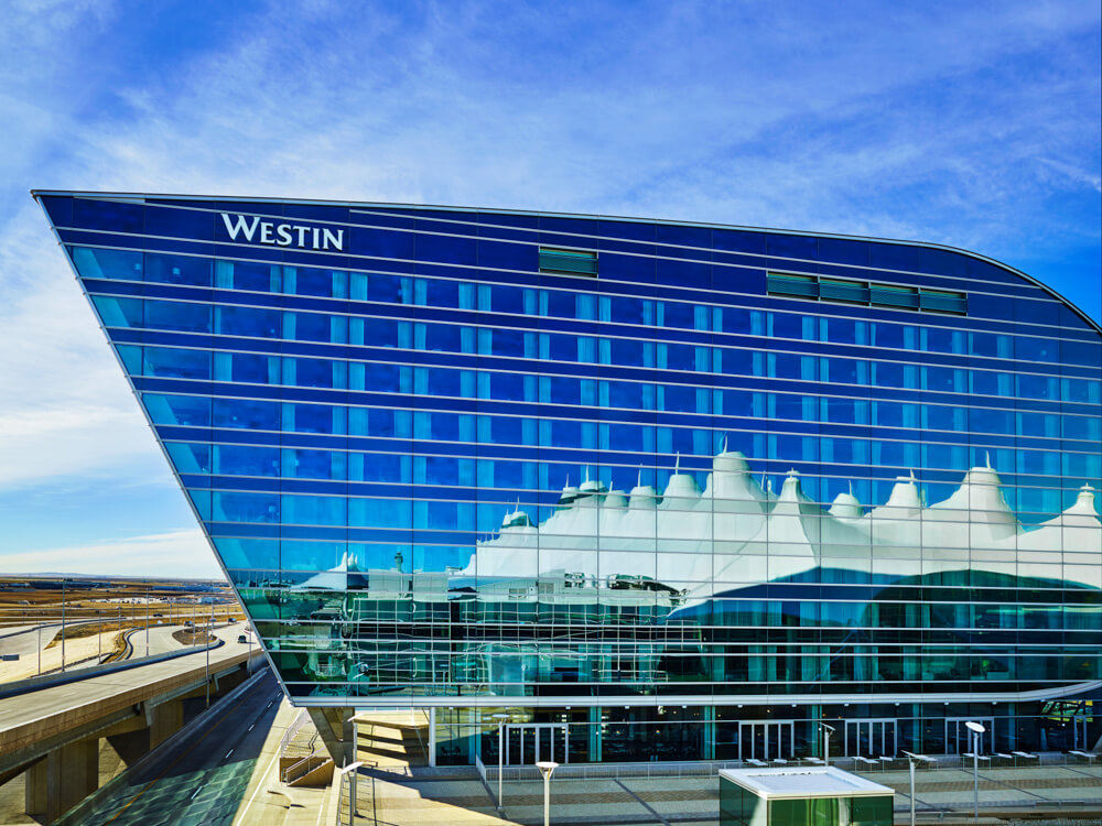 One Of The Most Aned New Hotels In Denver Westin International Airport