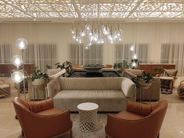 Le Blanc Cancun all-inclusive resort lobby