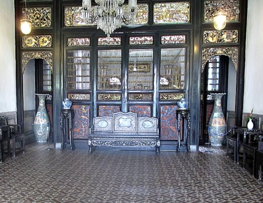 lobby the blue mansion