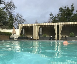 Solage geothermal pool