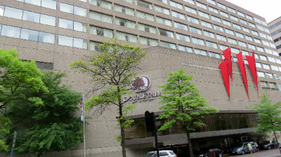 At DoubleTree, like in downtown Nashville, become a loyalty program member and book through the hotel website to get free Wi-Fi