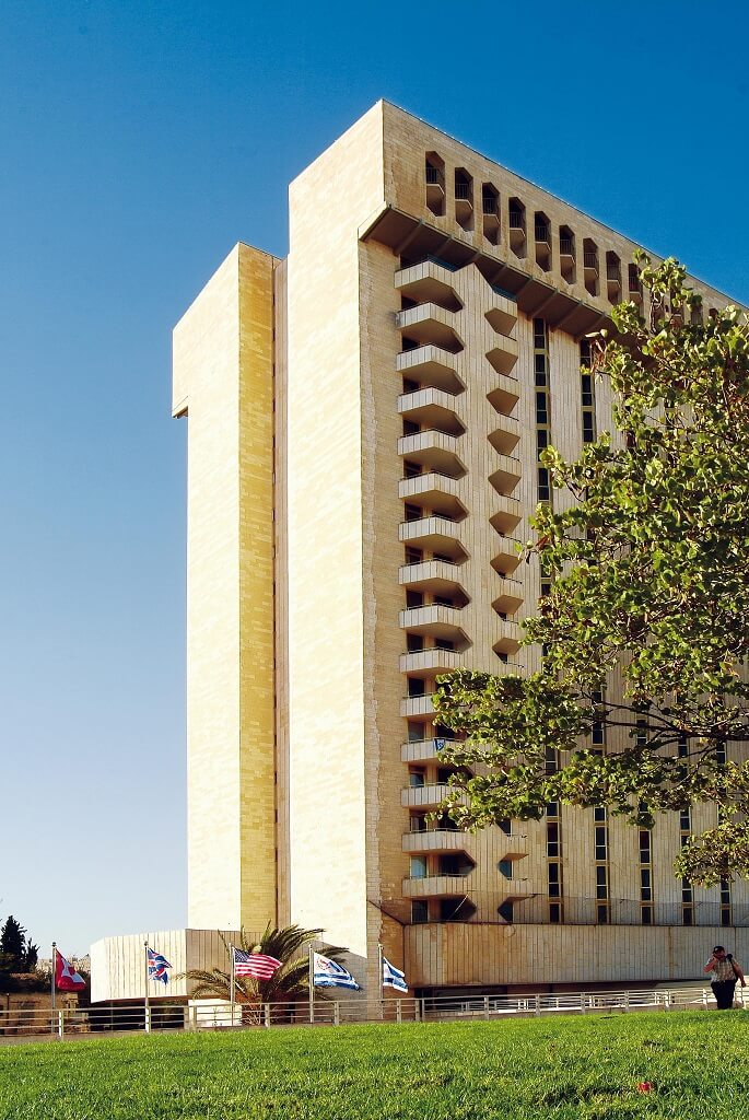 Extorior LH Plaza Jerusalem (c) Leonardo Hotels