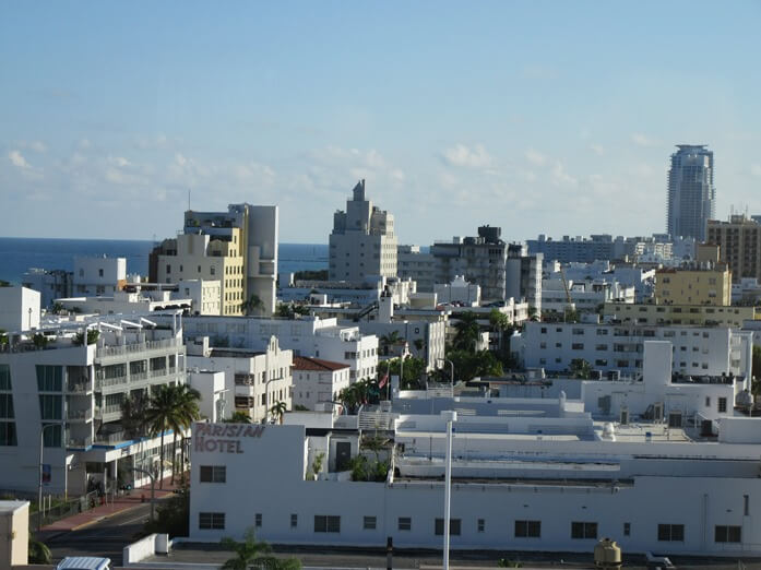 View from Ocean View King at Hyatt Centric South Beach