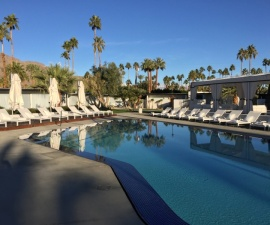 Pool, L'Horizon Hotel Palm Springs California
