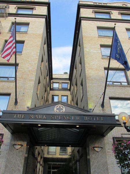 mark spencer, portland hotel