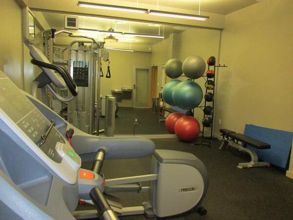 gym, mark spencer hotel