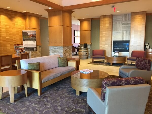 Lobby, Watermark Beach Resort, Osoyoos, BC Canada