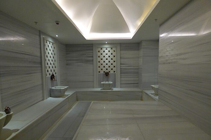 Turksih bath in hotel Istanbul
