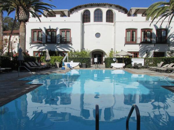 bacara spa, adult-only pool, santa barbara, california