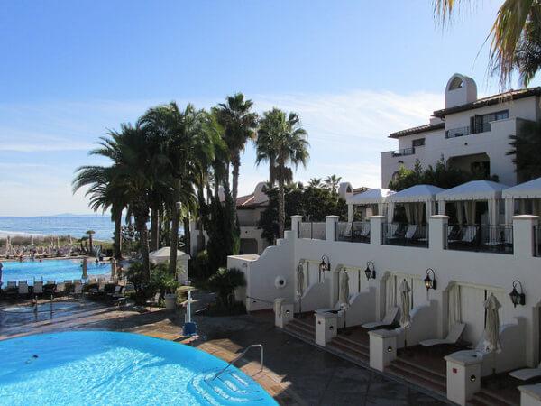 bacara resort, pool, santa barbara