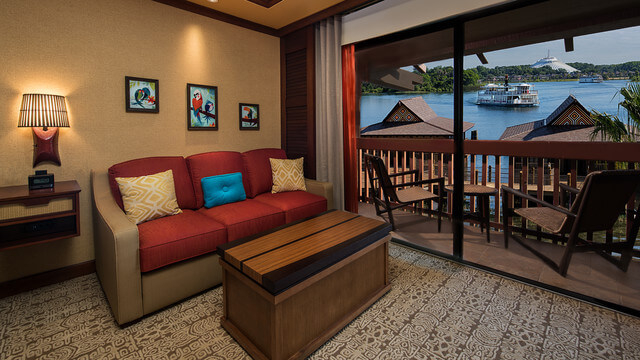 Disney's Polynesian Bungalow Lakeview