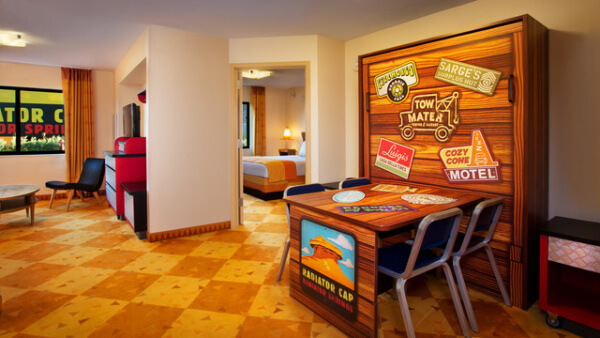 Value suite at Disney's Art of Animation in Orlando, Florida
