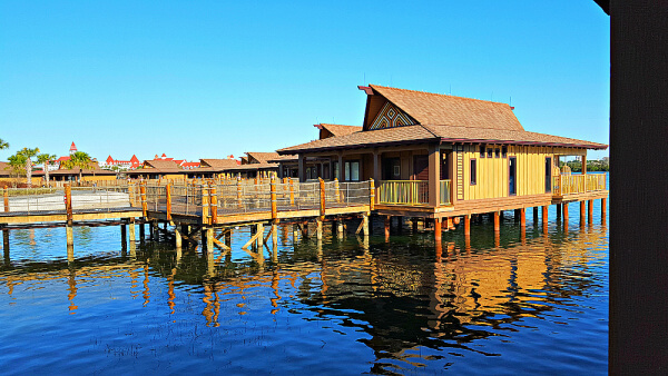 Disney's Polynesian offers Grand family accommodations in a bungalow.