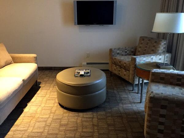 International Hotel suite, Calgary, Alberta, Canada